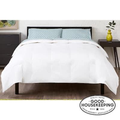 Light Weight Down Alternative Cotton White Full/Queen Comforter