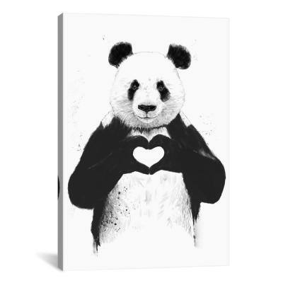 18 in. x 12 in. All You Need Is Love