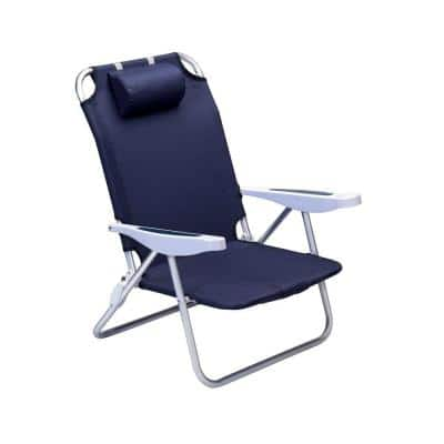 Navy Monaco Beach Patio Chair