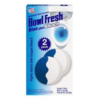 Blue-Bleach 1.4 oz. Bi-Colored Automatic Bowl Cleaners (2-Pack)