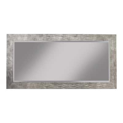 Oversized Metal Plastic Beveled Glass Full-Length Modern Mirror (65 in. H X 31 in. W)