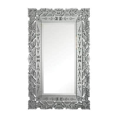 Large Rectangle Clear Classic Mirror (50 in. H x 31 in. W)