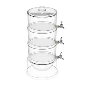 Classic Cuisine 2.6 Gal. Plastic 3-Tier Beverage Dispenser Deals