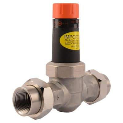 1 in. Stainless Steel Double Union NPT Pressure Regulating Valve