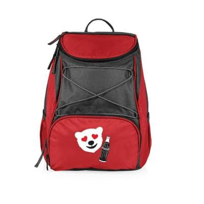 7.5 Qt. 20-Can Coca-Cola PTX Backpack Cooler in Red-Emoji Design