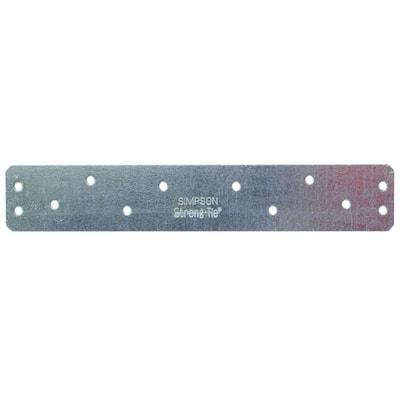 HRS 8 in. 12-Gauge Galvanized Heavy Strap Tie