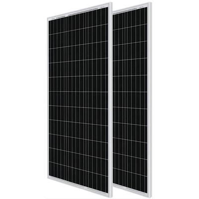 100-Watt 12-Volt Monocrystalline Solar Panel Compact Design (2-Piece)