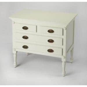 Butler Easterbrook White Drawer Chest