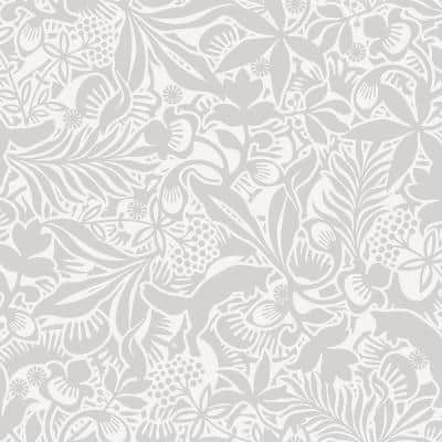 Lummig Grey Fox Paper Strippable Roll Wallpaper (Covers 57.8 sq. ft.)