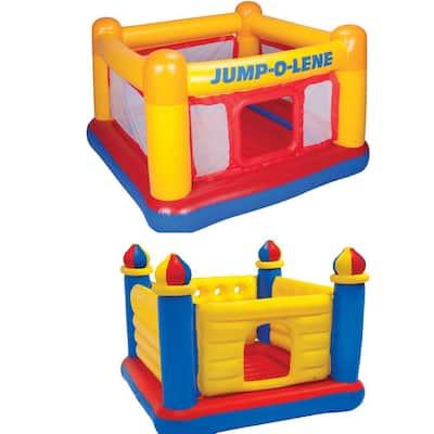 Inflatable Jump O Lene Bounce House and Colorful Jump O Lene Castle Bounce