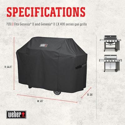 Genesis II 4 Burner Premium Gas Grill Cover