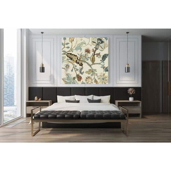 Giant Art 54 In X 54 In Mythos Ii By Maya Woods Wall Art Pimw 096a2 The Home Depot