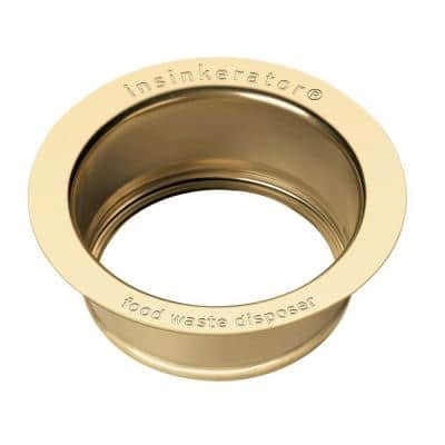 Sink Flange in French Gold for InSinkErator Garbage Disposals