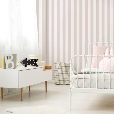 Stripe Pink Wallpaper Sample