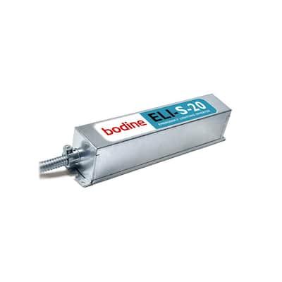 120 to 277-Volt ELI-S-20 20 or 25 Watt LED Sinusoidal Emergency Lighting Inverter