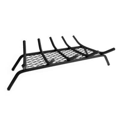 1/2 in. 27 in. 5-Bar Steel Grate with Ember Retainer