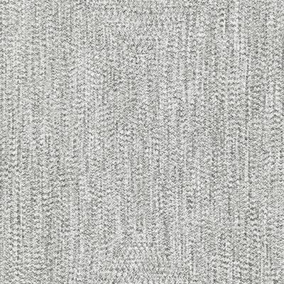 Lefebvre Casual Braided Salt & Pepper 8 ft. Indoor/Outdoor Square Rug