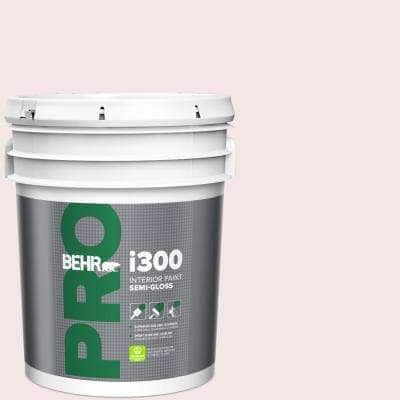 Behr Pro 5 Gal Rd W01 Pink Prism Semi Gloss Interior Paint Pr37005 The Home Depot