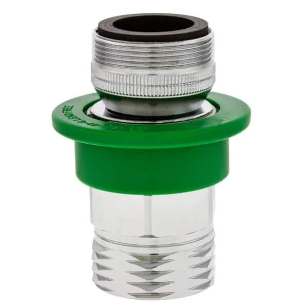 Neoperl Dual Thread By 3 4 In Brass Mgh Small Coupler And Fitting 37 0293 98 The Home Depot