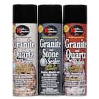 Stone Care System 18 oz. Granite Cleaner, Granite Polish, Granite Sealer (Pack of 3)