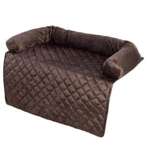 36 in. x 38 in. Polyester Brown Pet Cover