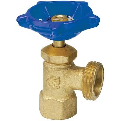1/2 in. Brass FIP x MHT Boiler Drain