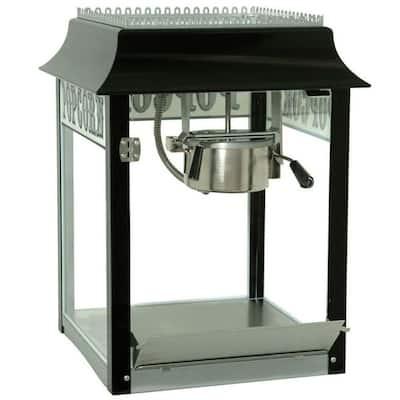 1911 Original 8 oz. Black Chrome Countertop Popcorn Machine