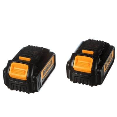 20-Volt MAX Premium Lithium-Ion 3.0Ah Battery Pack (2-Pack)