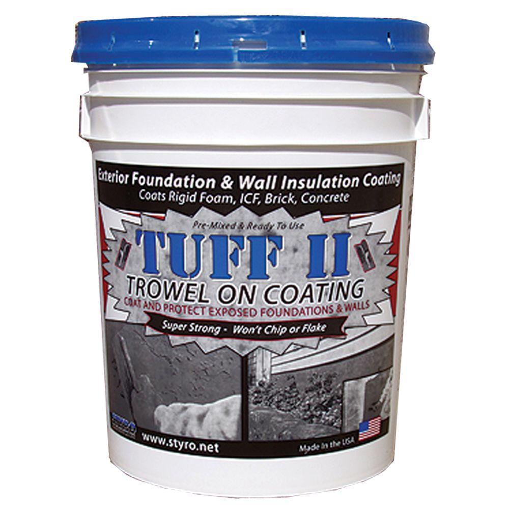 5 Gal. Foundation Grey Tuff II Foundation Coating