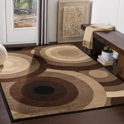 7 X 10 Brown Area Rugs Rugs The Home Depot
