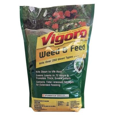 7 lb. 2,500 sq. ft. Spring and Fall Weed and Feed Lawn Fertilizer