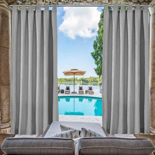 Pergola Patio Balcony, Outdoor Curtains For Balcony