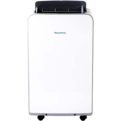 13,000 BTU (8,000 BTU DOE) Portable Air Conditioner with Dehumidifier in White