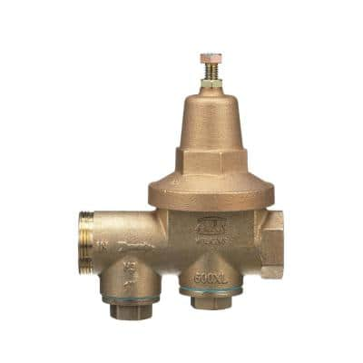 1 in. Bronze FIP x FIP Water Pressure Reducing Valve with No Lead