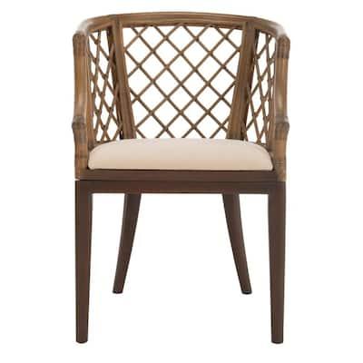 Carlotta Griege Cotton Arm Chair
