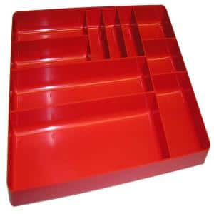 10-Compartment Tray Organizer