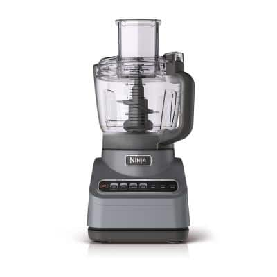 Professional Plus 9-Cup 4 Speed Silver Food Processor with Auto iQ