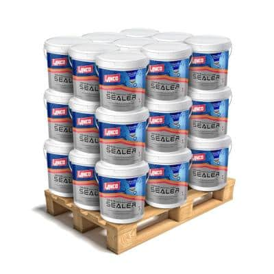 5 Gal. 100% Acrylic Roof and Wall Primer Sealer with Crack Penetration for Leak Prevention (27-Piece)