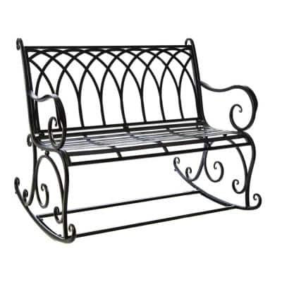 Rocking Outdoor Benches Patio, Outdoor Rocking Bench Seat