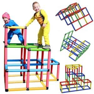 Create and play Life Size Structures Climbing Gyms