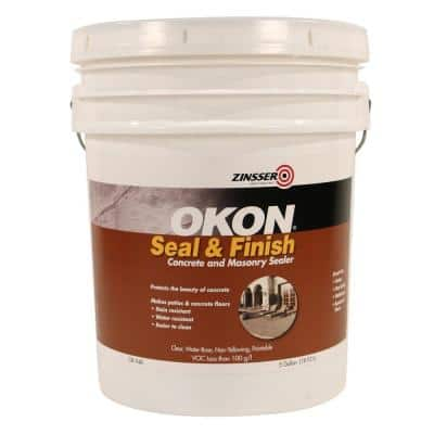 5 -gal. Acrylic Multi-Surface Water Repellent Clear Sealer and Finish