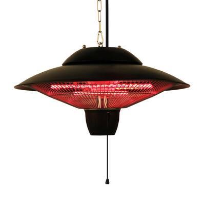 1500-Watt Infrared Electric Outdoor Hanging Heater