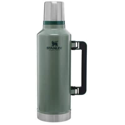 Classic 80 oz. Hammertone Green Stainless Steel Vacuum Insulated Thermos