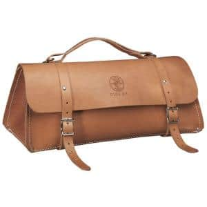 Deluxe Leather Bag, 24-Inch