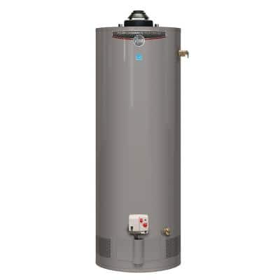 Performance Platinum 50 Gal. Short 12 Year 40,000 BTU Natural Gas Powered Damper ENERGY STAR Water Heater