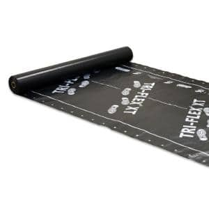 Tri-Flex XT 48 in. x 250 ft. Black Synthetic Roll Roofing Underlayment