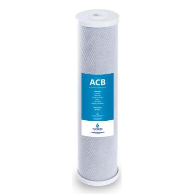 Big Blue Activated Carbon Block Replacement Water Filter - Whole House - 5 Micron - 4.5 in. x 20 in.