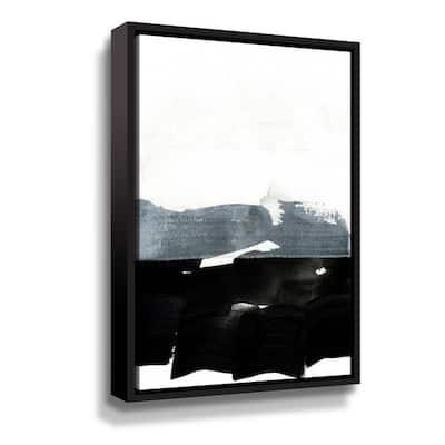 'BW 02' by  Iris Lehnhardt Framed Canvas Wall Art