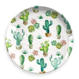 Desert Garden Round Melamine Platter