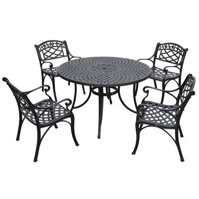 Sedona 5-Piece Cast Aluminum Outdoor Dining Set